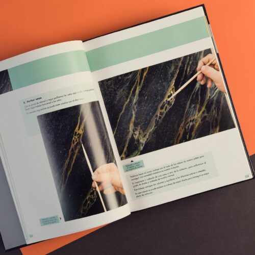 Libro de nuevas técnicas decorativas en pintura y restauración