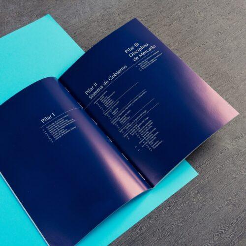 Catálogo impreso en color