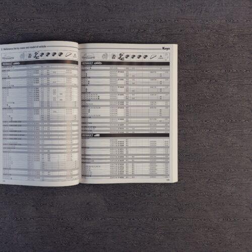 Catálogo de tarifas comerciales