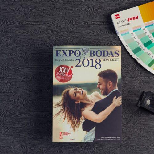 Catálogo - Revista comercial para la feria EXPOBODAS
