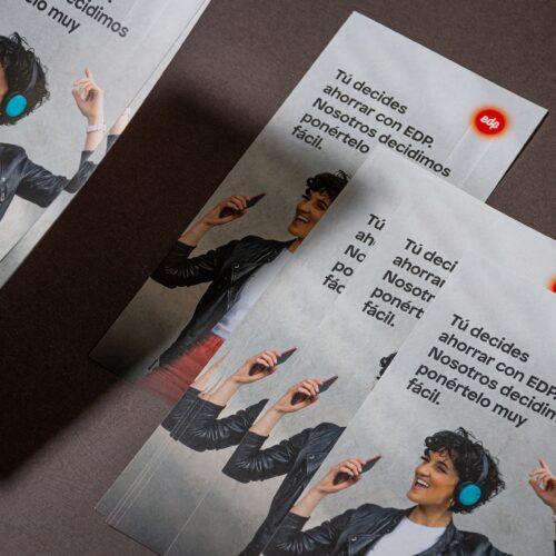 Flyer para promoción comercial