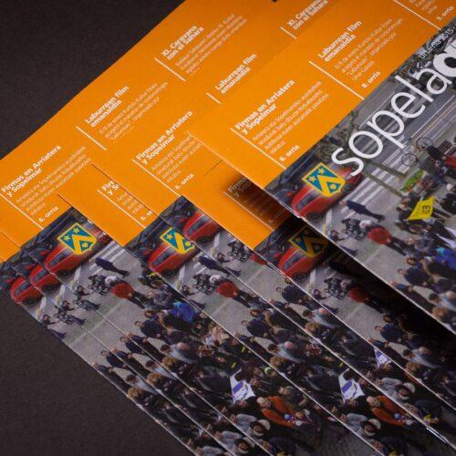Revista Sopelagua impresa en color