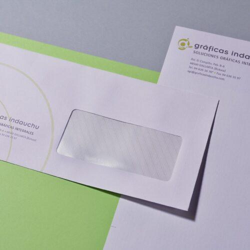 Impresión de sobres para papelería corporativa
